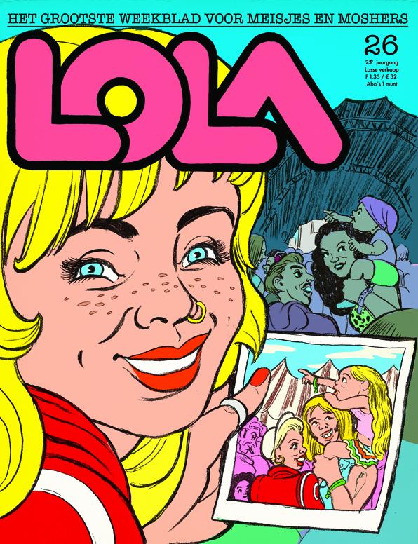 2018. LOLA (cover of comic)