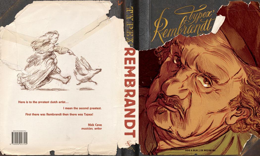 2010-2013. 'Rembrandt' (cover, back & front)